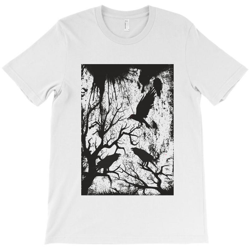 Black Crows T-shirt | Artistshot
