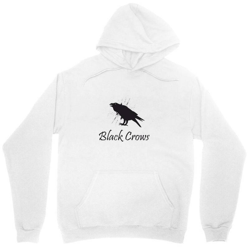 Black Crows Unisex Hoodie   Artistshot