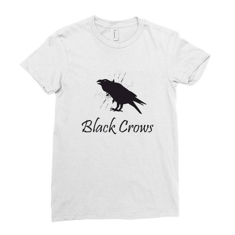Black Crows Ladies Fitted T-shirt | Artistshot