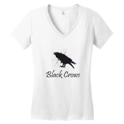 Black crows Women's V-Neck T-Shirt | Artistshot