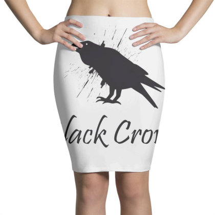 Black Crows Pencil Skirts Designed By Estore