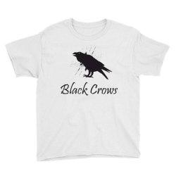 Black crows Youth Tee | Artistshot