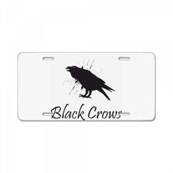 Black crows License Plate | Artistshot