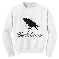 Black crows Youth Sweatshirt | Artistshot
