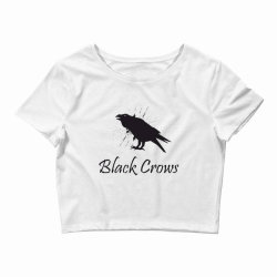 Black crows Crop Top | Artistshot