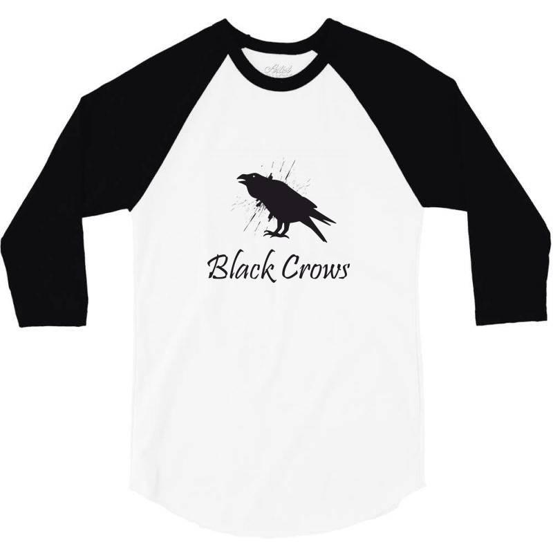 Black Crows 3/4 Sleeve Shirt | Artistshot