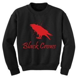 Black crows Youth Sweatshirt   Artistshot