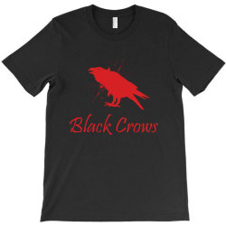 Black crows T-Shirt | Artistshot