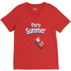 Party summer V-Neck Tee | Artistshot