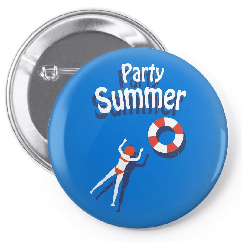 Party Summer Pin-back Button | Artistshot