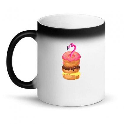 Donut Flamingo Magic Mug Designed By Neset