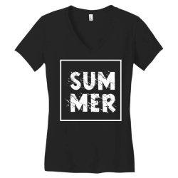 Summer Women's V-Neck T-Shirt | Artistshot