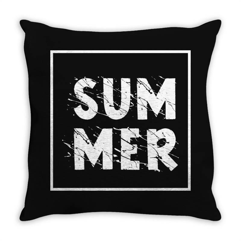 Summer Throw Pillow | Artistshot