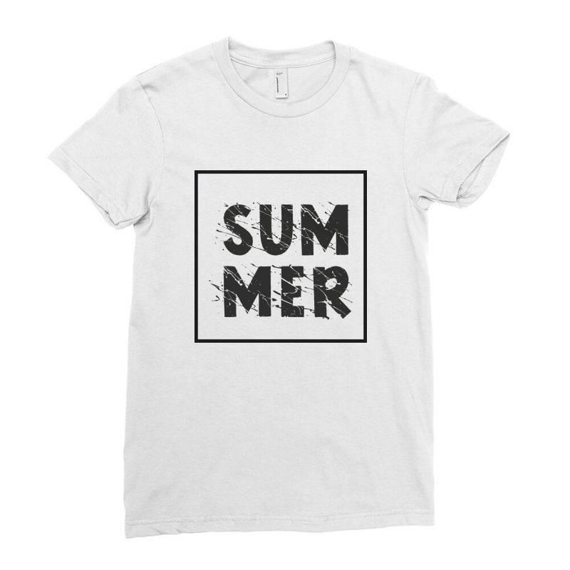 Summer Ladies Fitted T-shirt | Artistshot