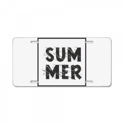 Summer License Plate | Artistshot