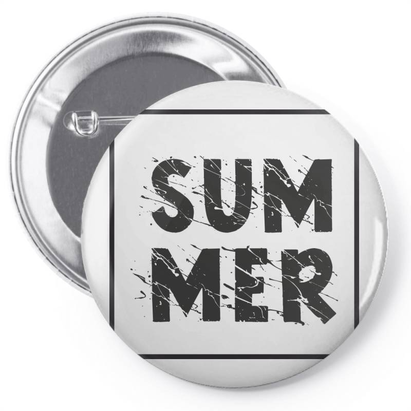 Summer Pin-back Button | Artistshot