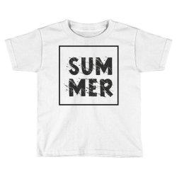 Summer Toddler T-shirt | Artistshot