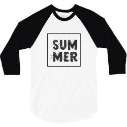 Summer 3/4 Sleeve Shirt | Artistshot