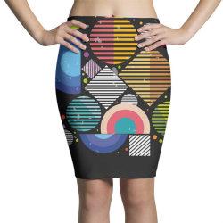 Geometric shapes Pencil Skirts | Artistshot