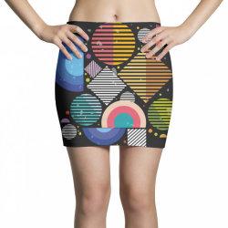 Geometric shapes Mini Skirts | Artistshot