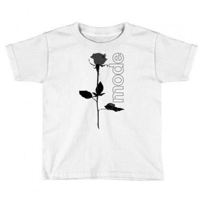 Mode Rose Black Toddler T-shirt Designed By Starlight