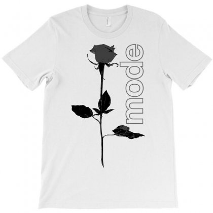 Mode Rose Black T-shirt Designed By Starlight