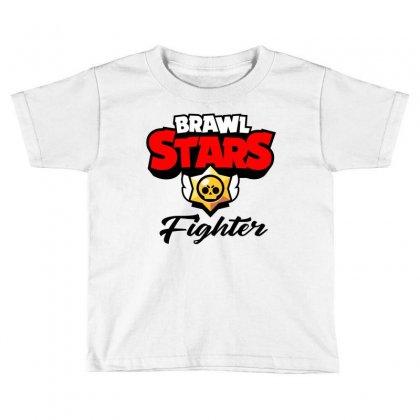Brawl Stars Fighter Toddler T-shirt Designed By Doing