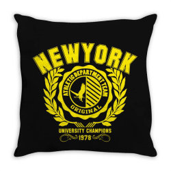 New york Throw Pillow | Artistshot