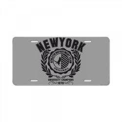New york License Plate   Artistshot