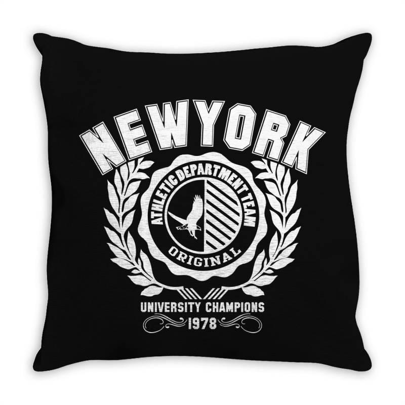 New York Throw Pillow | Artistshot
