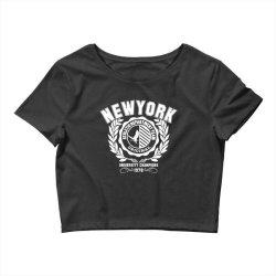 New york Crop Top | Artistshot