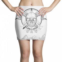 Skull Mini Skirts   Artistshot