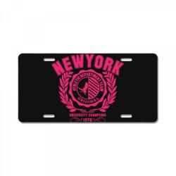 New york License Plate | Artistshot