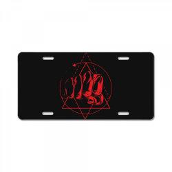 Hand License Plate   Artistshot