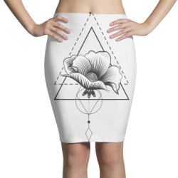 Flowers Pencil Skirts | Artistshot