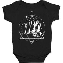 Hand Baby Bodysuit | Artistshot