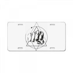 Hand License Plate | Artistshot