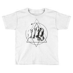 Hand Toddler T-shirt   Artistshot