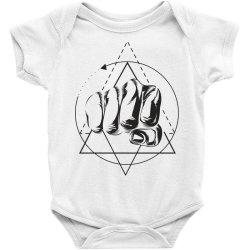 Hand Baby Bodysuit   Artistshot