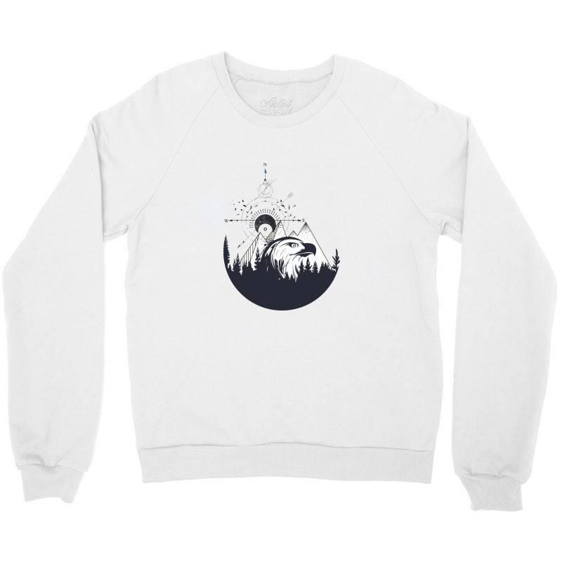 Eagle Crewneck Sweatshirt | Artistshot