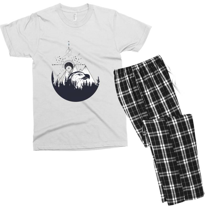 Eagle Men's T-shirt Pajama Set | Artistshot