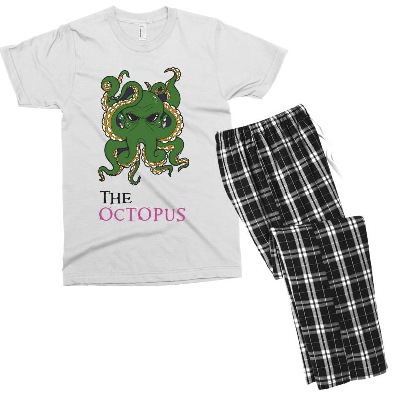 The Octopus Men's T-shirt Pajama Set | Artistshot