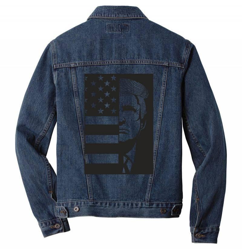 Donald Trump Men Denim Jacket | Artistshot
