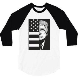Donald Trump 3/4 Sleeve Shirt | Artistshot
