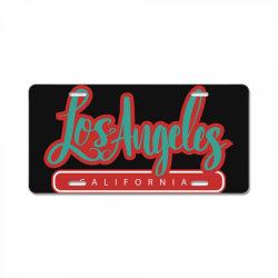 Los Angeles  California License Plate | Artistshot