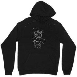 I love pug Unisex Hoodie | Artistshot