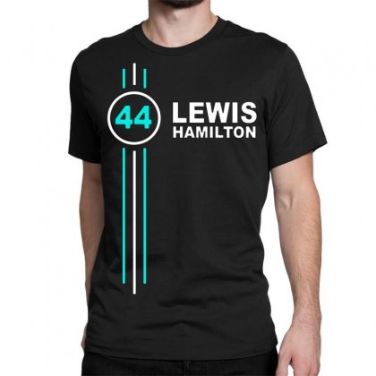 Lewis Hamilton Number 44 Classic T-shirt Designed By Jasmine Tees