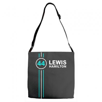 Lewis Hamilton Number 44 Adjustable Strap Totes Designed By Jasmine Tees