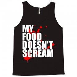 my food doesn't scream Tank Top | Artistshot