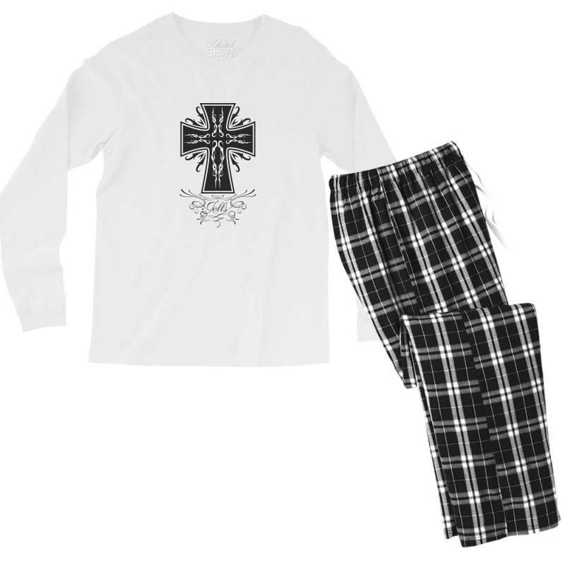 The Cross Men's Long Sleeve Pajama Set | Artistshot